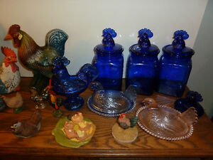 Vintage blue glass and collectibles Peterborough Peterborough Area image 2