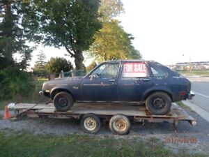 1976 Chevrolet chevette Hatchback four door