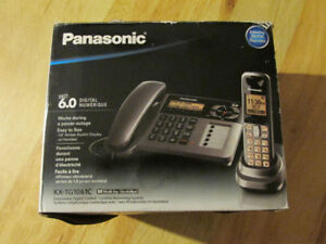 Panasonic Corded Digital Phone Dect 6.0 Answering Machine