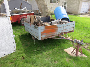 4 TRAILERS FOR SALE