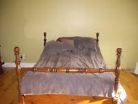 set de chambre en bois