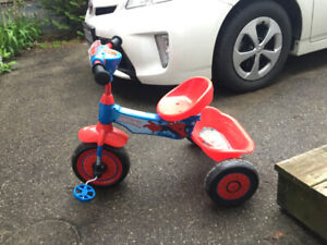 Spider Man Themed Tricycle With Sound Effects