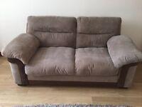 Harvey's cord 3 seater sofa
