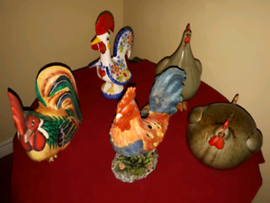 Rooster Decor Accents