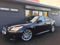 2006 56 BMW 525 2.5TD auto M Sport BLACK **FULL BMW SH - 19'S - NAV**
