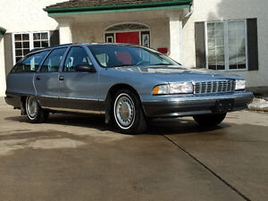 Absolutely Mint Chevrolet Caprice Wagon 24k original kms
