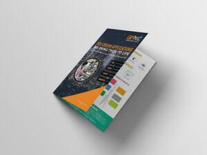 Business Bi-fold brochure starting from $250