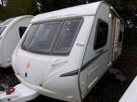 Abbey GTS 418 2008 High Specification 4 Berth Fixed Bed Touring Caravan