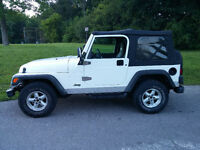 1999 Jeep TJ Sport 4L Convertible