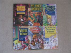The Great Whodonit Collection Book Set