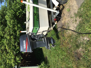 14.5' boat, motor and trailer