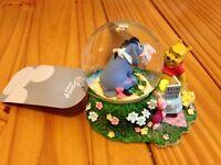 Winnie the Pooh Snow Globe.