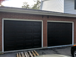 Garage door frame capping