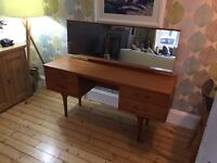 ***Mid Century, 1950's G Plan Fresco John Lewis Sideboard/dressing table and mirror***