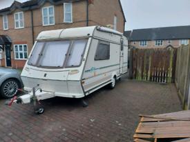 To both touring caravan