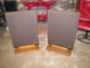 Bertagni SM-250 vintage Walnut Electroacoustic Panel Speakers