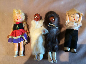 4 dolls, All for $5