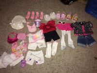 Girls build a bear outfits