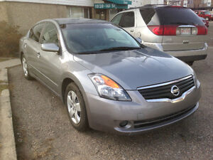 2007 Nissan Altima Cloth Seats Sedan