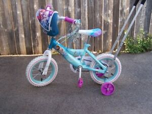 DISNEYS ELSAS FROZEN BIKE