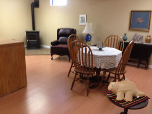 FURNISHED LARGE IN-LAW SUITE IN FORT SMITH, NWT.