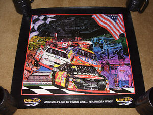 4 NASCAR Team Chevrolet Sam Bass Prints London Ontario image 4