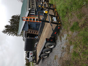 18 ton triaxle trailer  $5000.00