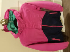 Size 14 Pink and Jean coloured O'Neil winter jacket.