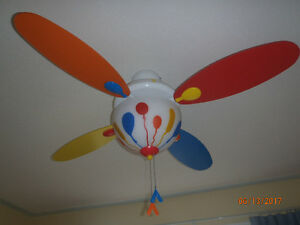 Ceiling Fan 44 Inch Kids Room