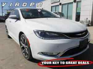 2016 Chrysler 200 C **LOW KMS!! LEATHER SEATS!!**
