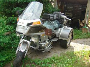 1986 GL1200 Honda Gold Wing Trike (Lehmans conversion)