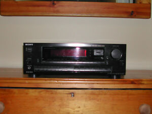 Sony stereo component CDP C700 five (5) Disc CD Player