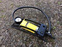 Halfords Car Foot Pump