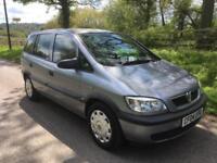 Vauxhall/Opel Zafira 1.6i 16v FULL SERVICE HISTORY+JUST HAD THE CAMBELT DONE