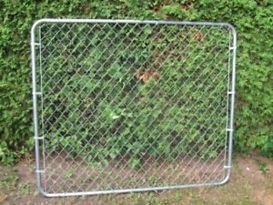"""5FT HIGH X 68"""" WIDE CHAIN LINK GATE"""