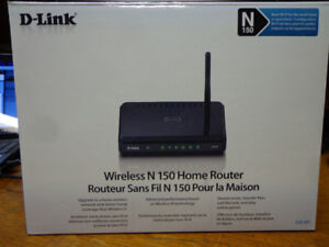 D-Link Wireless N 150 Router  $10.00