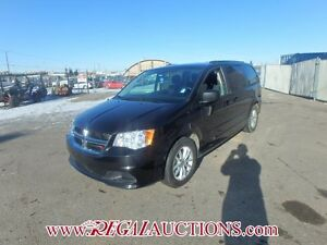 2014 DODGE GRAND CARAVAN SXT WAGON 7PASS 3.6L SXT