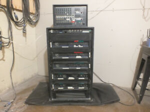 Complete Music System! Sold as a single unit or seaparate