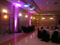 Wedding Uplighting Lighting Special Effects Monogram Services