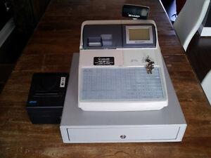 Caisse enregistreuse Sharp Up-700 et imprimante West Island Greater Montréal image 1