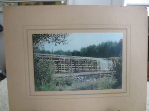 BEAUTIFUL OLD MATTED PHOTOGRAPH...UNFRAMED