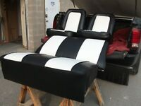 Automotive Seats Recovered or Repaired