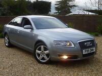 2007 57, Audi A6 Saloon 2.0 TDI CVT Automatic SE Saloon + SAT NAV+CRUISE CONTROL