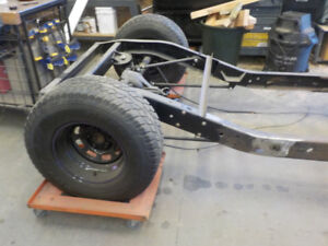 S 10 Hot/ Rat rod chassis