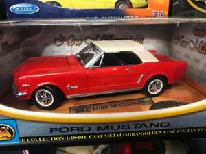 Ford Mustang 1964 1/2 diecast 1/18 die cast