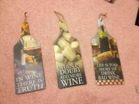 Wine decor lot