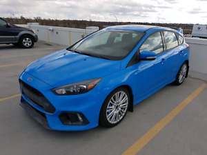 2017 Ford Focus RS Hatchback RARE Nitrous Blue Lease Takeover 0%
