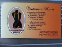 Couturiere Maria - service alterations