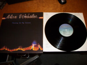 1978 MAX WEBSTER - Mutiny Up My Sleeve Album / Record / LP