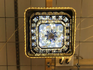 NEW CRYSTAL GLASS CEILING LIGHTS